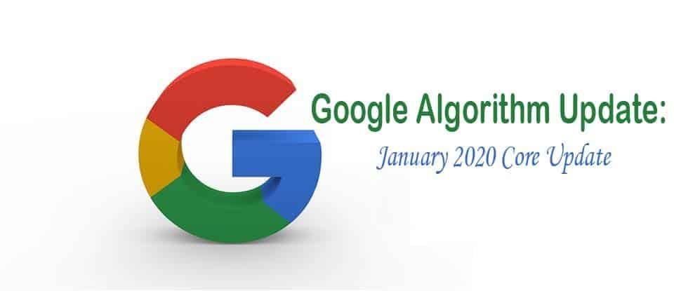 Jan 2020 Google Updates