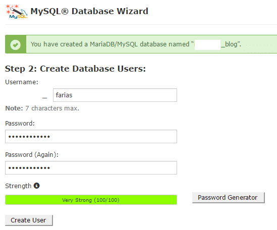 MySQL Database Wizard-2