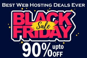 Black Friday Web Hosting Deals